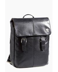 Knomo Black 'hudson' Backpack for men