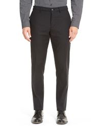 Calibrate | Black Slim Fit Straight Leg Chinos for Men | Lyst
