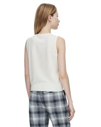 Rebecca Taylor | White Sloane Sweater Shell | Lyst