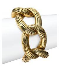 Vaubel | Metallic Chunky Chain Bracelet | Lyst