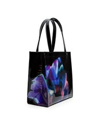 Ted Baker Blue Cosmic Bloom Icon Small Shopper Bag