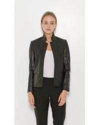 Zadig & Voltaire - Black Volya Deluxe Leather Jacket - Lyst