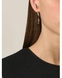 Shaun Leane - Metallic Porcupine 'quill' Earrings - Lyst