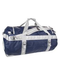 The North Face Blue Base Camp Duffel Large
