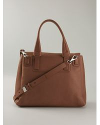 Givenchy Brown Large 'Pandora' Tote
