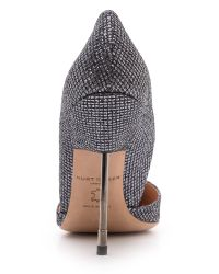 Kurt Geiger Metallic Bond Glitter Courts