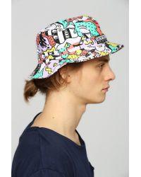 Staple - Multicolor X Steve Harrington Reversible Bucket Hat for Men - Lyst