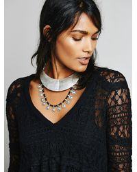 Free People | Metallic Womens Yilan Coin Collar | Lyst