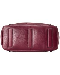 Fossil | Red Emerson Satchel | Lyst