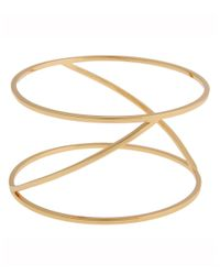 Rachel Zoe | Metallic Eloise 12K Gold Bangle Bracelet | Lyst