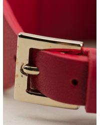 Valentino Red 'rockstud' Bracelet
