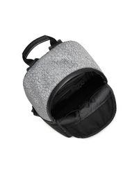 Calvin Klein - Gray White Label Brett Logo Backpack for Men - Lyst