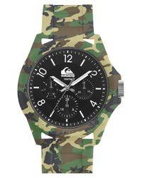 Quiksilver Green Chronograph Bracelet Watch for men