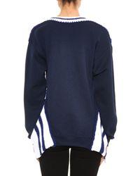 Michaela Buerger - Blue Miss Grand Slam Knit Sweater - Lyst