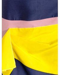 ROKSANDA Yellow Flyn Contrast-panel Skirt