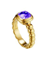 John Hardy - Metallic Batu Bedeg Amethyst Ring - Lyst