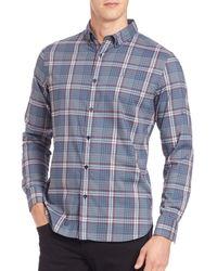Victorinox - Blue Bruckton Sportshirt for Men - Lyst