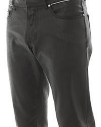 Balenciaga - Black Coated Skinny Jeans for Men - Lyst