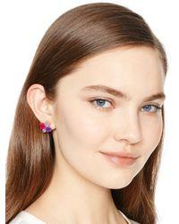 kate spade new york - Multicolor Kate Spade Cluster Earrings - Lyst