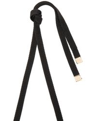 Marni | Black Metal Necklace | Lyst