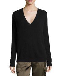 Theory | Black Adrianna R. Cashmere Sweater | Lyst