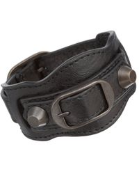 Balenciaga | Black Arena Classic Bracelet | Lyst