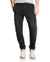 Joe's Jeans | Black Cargo Jogger Pants for Men | Lyst
