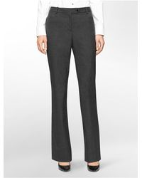 Calvin Klein | Gray White Label Straight Fit Houndstooth Suit Pants | Lyst