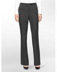 Calvin Klein - Gray White Label Straight Fit Houndstooth Suit Pants - Lyst