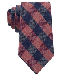 Tommy Hilfiger | Blue Buffalo Check Tie for Men | Lyst