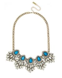 BaubleBar | Blue Peacock Chandelier Collar | Lyst