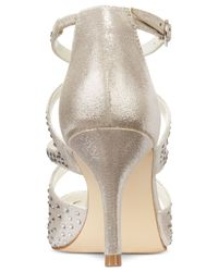 Alfani - Metallic Women's Capucen Caged Evening Pumps, Only At Macy's - Lyst