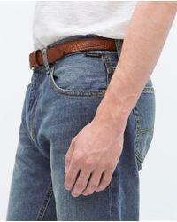 Zara | Blue Basic Jeans for Men | Lyst