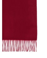 J.Crew | Red Cashmere Scarf for Men | Lyst