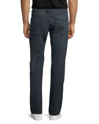 7 For All Mankind - Gray Luxe Performance: Standard-fit Vacancy Jeans for Men - Lyst