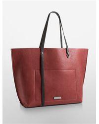 Calvin Klein | Red Jeans Kirsten Metro Tote | Lyst
