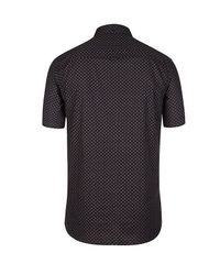 AllSaints Black Archo Short Sleeve Shirt for men