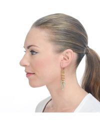 Lulu Frost - Metallic New Cathedral Earring - Lyst
