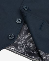 Ted Baker | Green Wool And Silk-blend Waistcoat for Men | Lyst