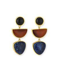 Lizzie Fortunato Multicolor The Beldi Earrings