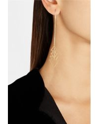Maria Black - Metallic Alex 18-Karat Gold Earrings - Lyst