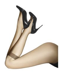 Wolford | Natural Individual Sheer Knee-Highs | Lyst