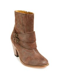 J SHOES - Brown 'phoenix' Leather Bootie - Lyst