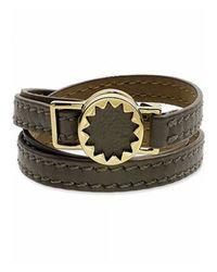 House of Harlow 1960 - Brown Sunburst Wrap Bracelet - Lyst
