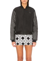 This Is A Love Song Black Crew Love Shell Bomber Jacket
