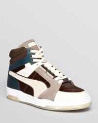 PUMA Gray Alexander Mcqueen Slipstream X Made In Italy Sneakers for men