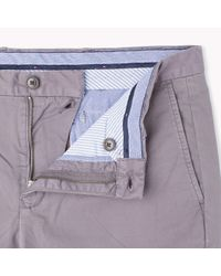 Tommy Hilfiger | Gray Organic Cotton Chino for Men | Lyst