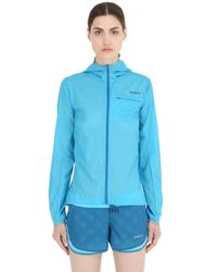 Patagonia | Blue Light Houdini Running Light Jacket | Lyst