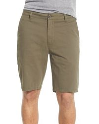 Rip Curl - Green 'epic Stretch' Chino Shorts for Men - Lyst