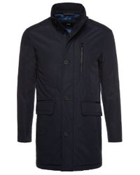 BOSS Blue Jacket: 'coman' for men